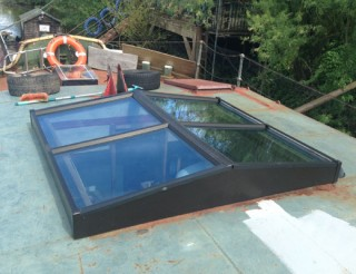 Double Glazed Boat Roof Window
