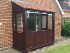 Double glazed porch in York